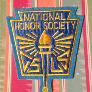 Vintage Old Stock National Honor Society Patch